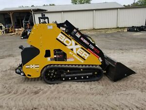 New 2019 Boxer 700hdx Mini Skid Steer Loader Expandable Tracks Kubota Diesel