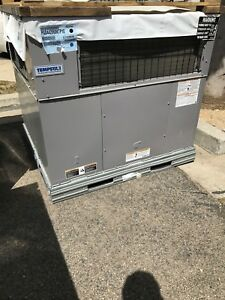 Icp Tempstar Carrier 3 5 Ton Packaged Unit 14 Seer 230v 1 ph Gas Heater Ac Pgd4