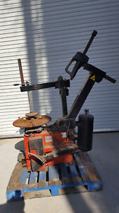 John Bean Ehp System Iv Rim Clamp Tire Changer Machine Needs Work