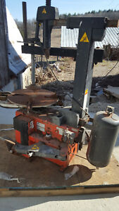 John Bean Ehp System Iv Tire Changer Machine Rim Clamp Needs Work