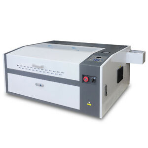 Usb 60w Co2 Laser Engraving Cutting Machine 500 300mm With Rotary Attachment