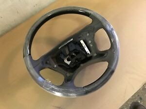New Oem 04 09 Mercedes E Class W211 Leather Wood Steering Wheel 2194603703