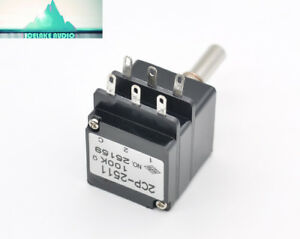 1pc Japan Tkd Potentiometer 2cp 2511 Stereo 100k Volume Control