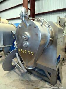 Used Heinkel Hf300 Inverting Filter Centrifuge 316 Stainless Steel 300mm 11