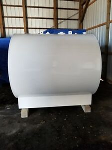 1 000 Gallon Skidded Ul 142 Single Wall Steel Fuel Storage Tank Nfpa 30a