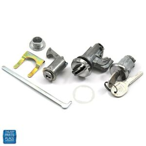 1970 1972 Chevelle Glovebox Trunk Console Lock Kit Later Key 306