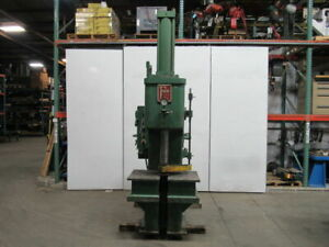 Fox 25 Ton Hydraulic C Frame Press 24 Stroke 12 Throat 18 Open 208 220 440v