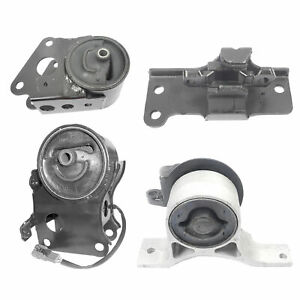 Engine Motor Trans Mount 4pcs Set For 2005 2006 Nissan Altima Se 3 5l Fwd