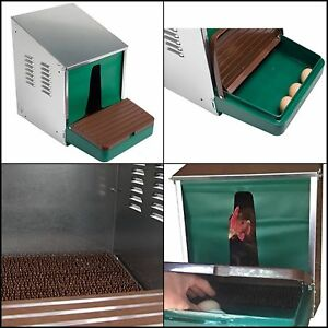 Roll Out Nesting Box Removable Nesting Pad With Curtains Chicken Coop Bed House