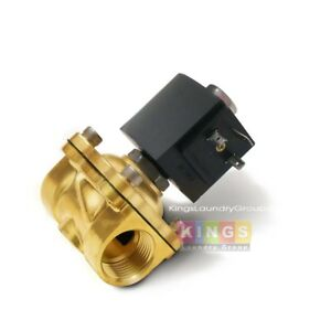 New 1 2 Inch Brass Water Valve 220v For Unimac Washers F381703 F8521501