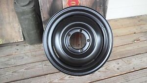 Jeep Willys Cj2a Cj3a M38 M38a1 16 X 4 1 2 Rim Heavy Built Reproduction