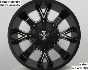 4 New 22 Wheels Rims For Dodge Ram 1500 Dakota 2wd Durango 2wd 4wd 29098