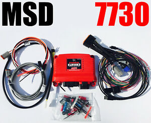 Msd 7730 Power Grid System Controller Rpm Activated Digital Universal New In Box