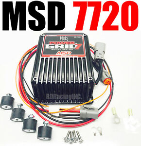 Msd 7720 Power Grid Ignition System Ignition Control New In Box