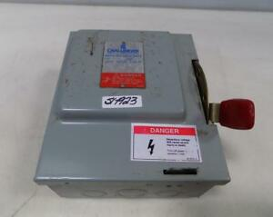 Challenger 30amp Type 1 General Duty Safety Switch Gd321nfc
