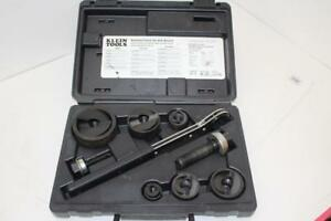Klein Tools Knockout Punch W Wrench 53732 Free Ship
