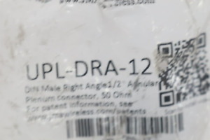 Upl dra 12 Jma Right Angle Din For Plenum Cable 1 2
