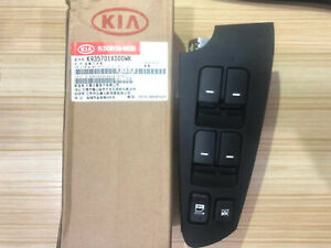 For Kia Forte Cerato 2010 2013 Power Window Main Switch Lh Drive Side Assembly