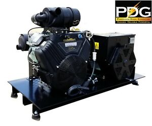 22 Kw Gas Powered Pdg Industrial Grade Generator With Briggs Stratton Vanguard