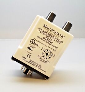 New Macromatic Vakp024d Voltage Monitoring Relay Over Under Voltage Ser A