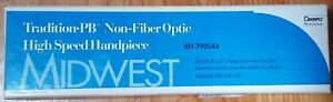 Midwest Tradition Pb Non fiber Optic High Speed Handpiece 4 Hole New In Box