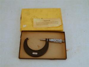 Exc Central Tool 2 3 Outside Micrometer