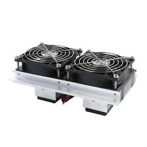 Thermoelectric Peltier Refrigeration Cooling System Kit Cooler Fan Durable