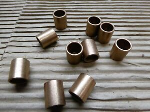 Oilite Bushing Bronze 1 2 X 5 8 X 3 4 Lot Of 10