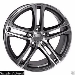 4 New 17 Replacement Wheel For Audi A3 A4 A5 A6 A8 R8 Rim 24306