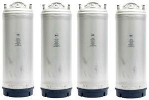5 Gallon Ball Lock Homebrew Beer Kegs New Blemished 4 Pack Free Shipping