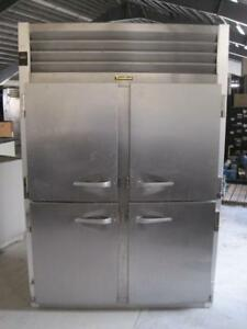 Traulsen G20000 2 Section Half 4 Door Reach in Commercial Refrigerator Type 134a