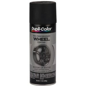 Dupli Color Wheel Paint Satin Black 12 Oz Made In Usa 7201 183