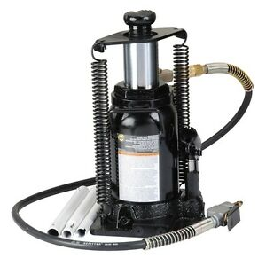 Omega 18206c 20 Ton Hyd Air Manual Bottle Jack W Return Springs