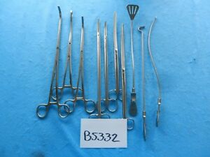 Karl Storz Surgical Cardiovascular Thoracic Giudicelli Instrument Set