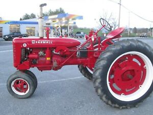 Restored Farmall C New Tires Overhauled Ready For Play Or Work