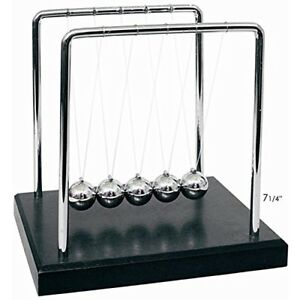 Newtons Cradle Balance Balls Classic Desk Toy Model Momentum Swinging Game Gift