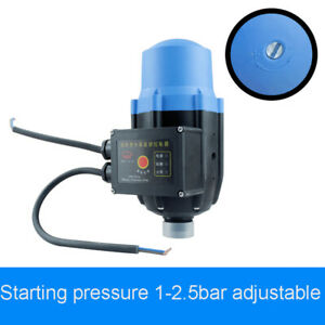 Automatic Electronic Switch Control Water Pump Pressure Switch 220v 10bar Max
