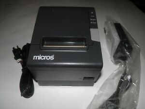Micros Epson Tm t88v Thermal Pos Receipt Printer Micros Ethernet M244a
