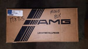 Nos 1 One Mercedes Benz Amg Monoblock Ii Wheel Rim 17x7 5 17 B66020083