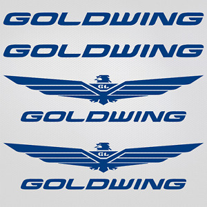 Sticker Honda Goldwing Xl Set 60cm Gl1800 Free Tacking
