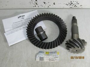 New Oem Mopar Jeep 4882844 Ring And Pinion Set 4 10 Ratio Dana 44