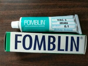 Fomblin Vacuum Grease 3 100 Gram Tube