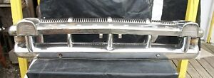 1956 Mercury Front Bumper And Grille Assembly Complete