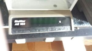 Mettler Digital Lab Scale Balance Analytical Ae163 Ae 163 Used Good Condition
