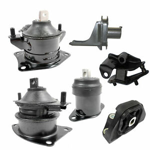 2004 2005 For Acura Tsx Base 2 4l Fwd Engine Motor Trans Mount 6pcs Set