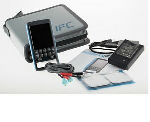 Tens Unit Electrotherapy Interferential Digital Device Ifc Deep Tissue Therapy