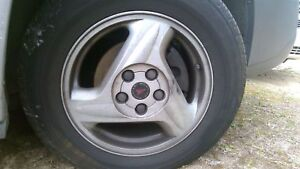 Wheel Pontiac Aztek 01 02 16 Inch Aluminum Rim With Center Tire Not Included