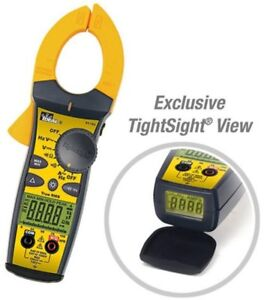 660 Amp Ac Tight Sight Clamp Meter Multimeter Tester Electrical Test Equipment