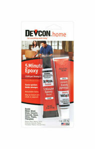 Devcon Epoxy All Purpose Wood Concrete Ceramic Clear Carded 1 Oz Case Of 12
