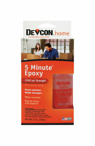 Devcon Epoxy All Purpose Wood Concrete Ceramic Clear Bottle Carded 4 5 Oz Cas